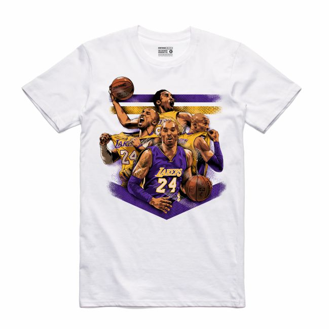 Mamba White T-Shirt (Tribute Collection)