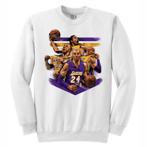 Mamba White Crewneck (Tribute Collection)