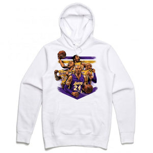Mamba White Hoodie (Tribute Collection)