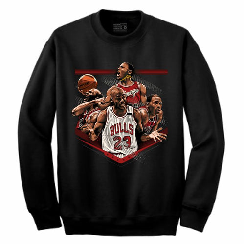 MJ Black Crewneck (Tribute Collection)