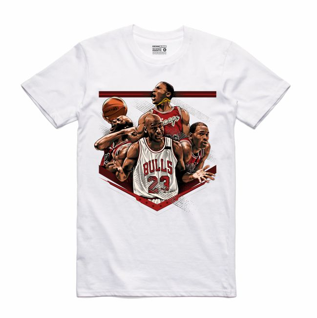 MJ White T-Shirt (Tribute Collection)