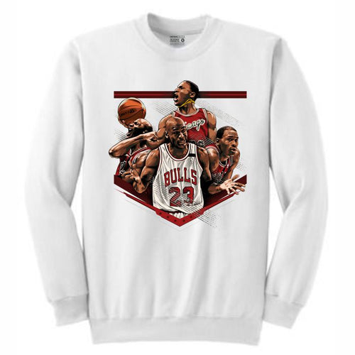 MJ White Crewneck (Tribute Collection)