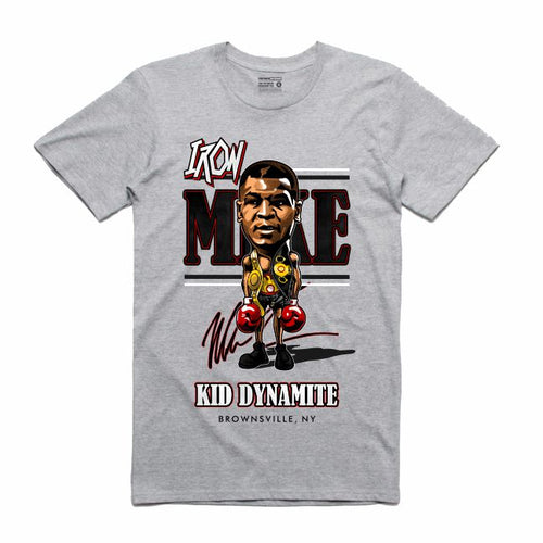 Iron Mike Grey T-Shirt (Caricature Collection)