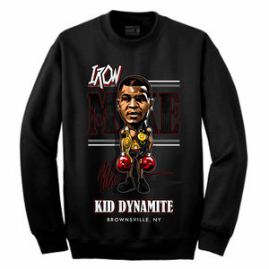 Iron Mike Black Crewneck (Caricature Collection)