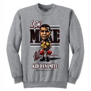 Iron Mike Grey Crewneck (Caricature Collection)