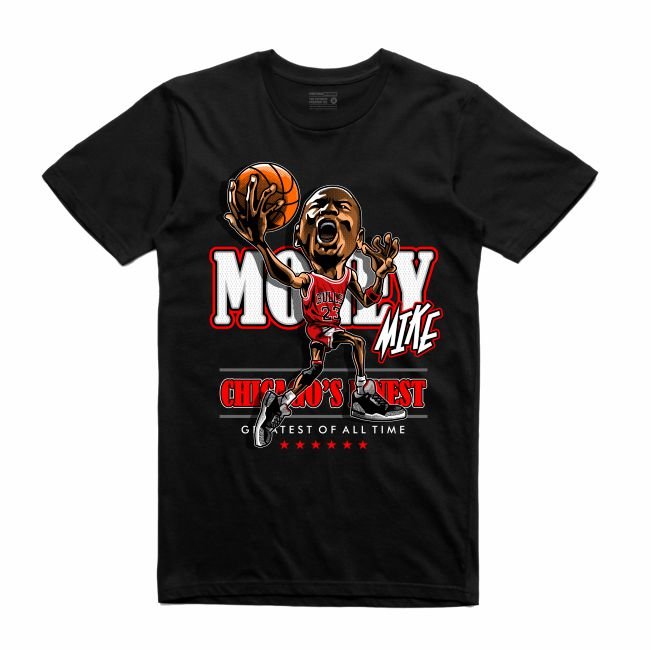 MJ Black T-Shirt (Caricature Collection)
