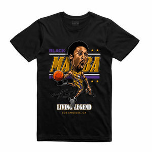 Mamba Black T-Shirt (Caricature Collection)