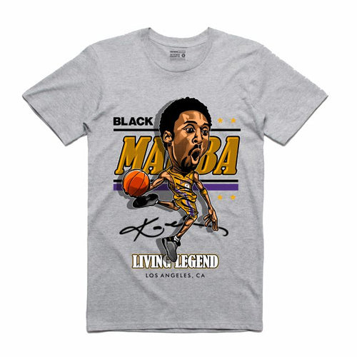 Mamba Grey T-Shirt (Caricature Collection)