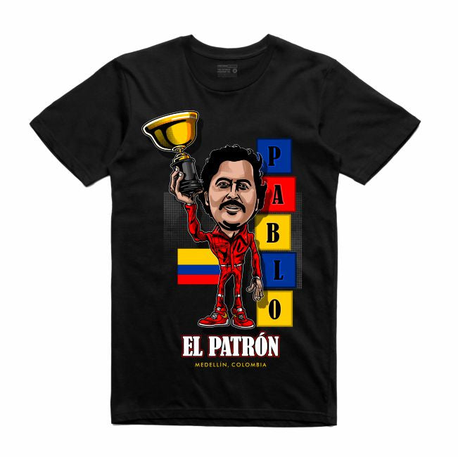 Pablo Black T-Shirt (Caricature Collection)