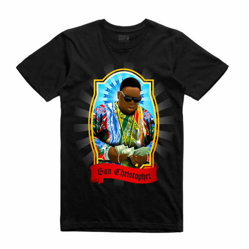 Biggie Black T-Shirt (Veladora Collection)