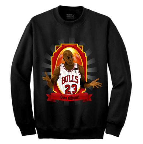 MJ Black Crewneck (Veladora Collection)