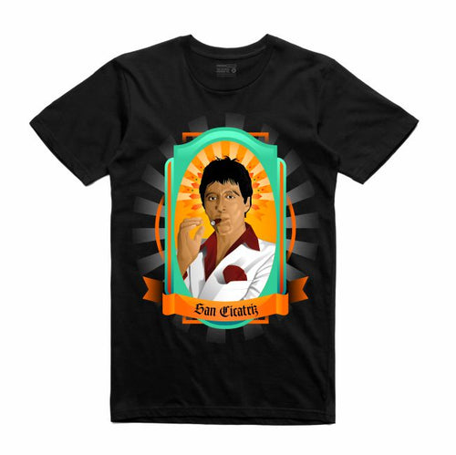 Scarface Black T-Shirt (Veladora Collection)