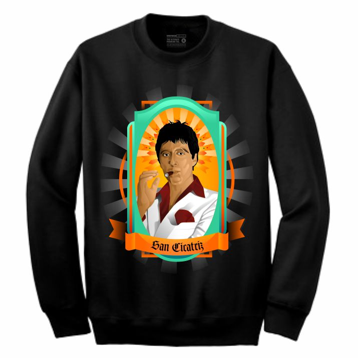 Scarface Black Crewneck (Veladora Collection)