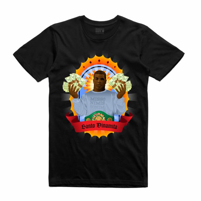 Iron Mike Black T-Shirt (Veladora Collection)
