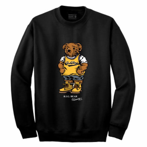 Biggie Badboy Black Crewneck (Bear Collection)