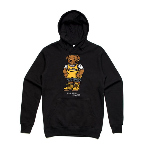 Biggie Badboy Black Hoodie (Bear Collection)