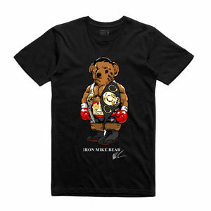 Iron Mike Black T-Shirt (Bear Collection)