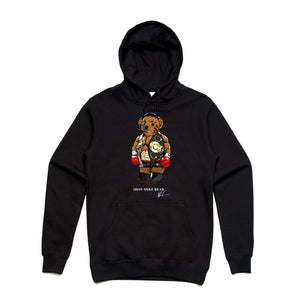 Iron Mike Black Hoodie (Bear Collection)