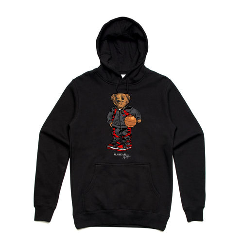 MJ Black Hoodie (Bear Collection)