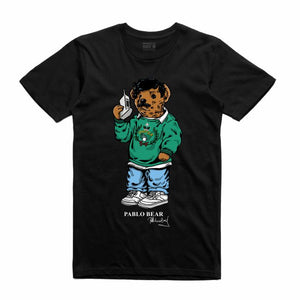 Pablo Black T-Shirt (Bear Collection)