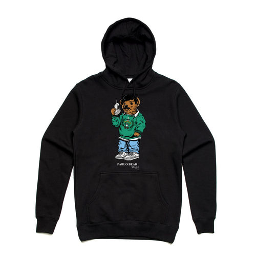 Pablo Black Hoodie (Bear Collection)
