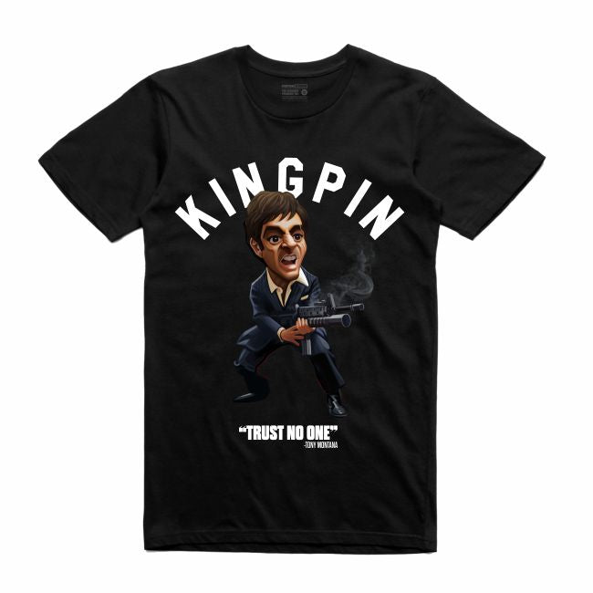 Scarface Black T-Shirt (Toons Collection)