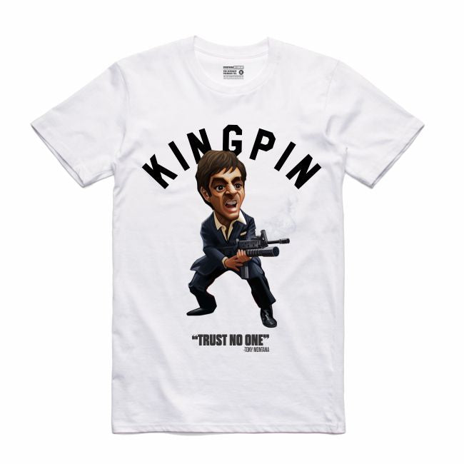 Scarface White T-Shirt (Toons Collection)