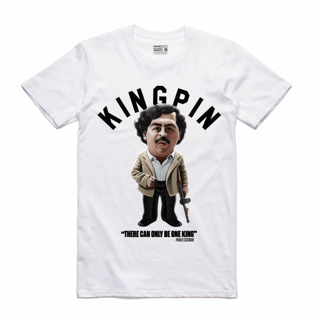 Pablo White T-Shirt (Toons Collection)