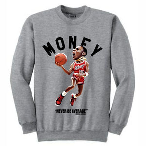 MJ Grey Crewneck (Toons Collection)