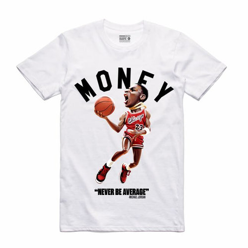 MJ White T-Shirt (Toons Collection)
