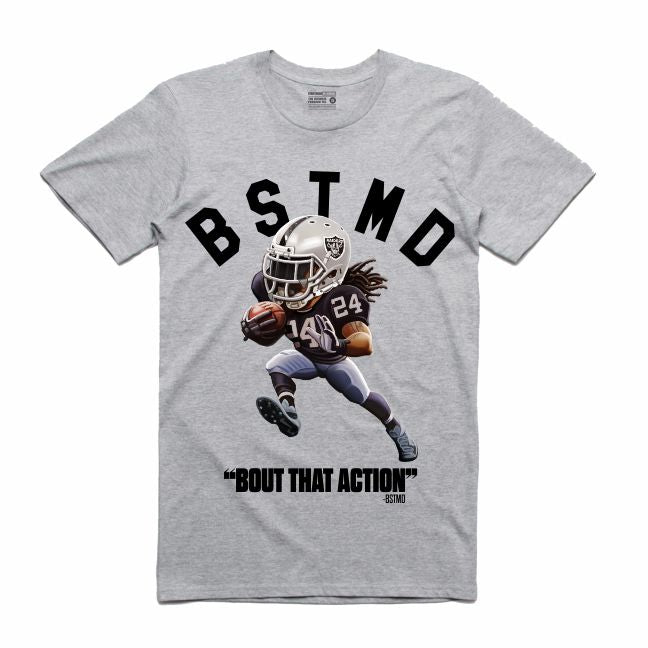 Beastmode Grey T-Shirt (Toons Collection)