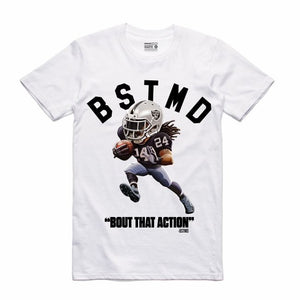 Beastmode White T-Shirt (Toons Collection)
