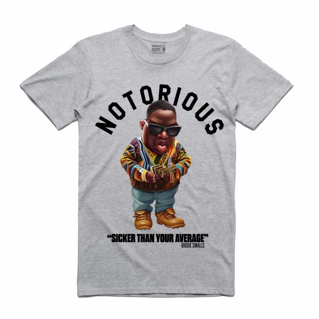 Biggie Grey T-Shirt (Toons Collection)