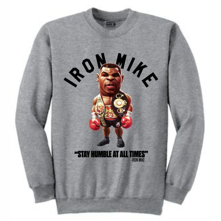 Iron Mike Grey Crewneck (Toons Collection)
