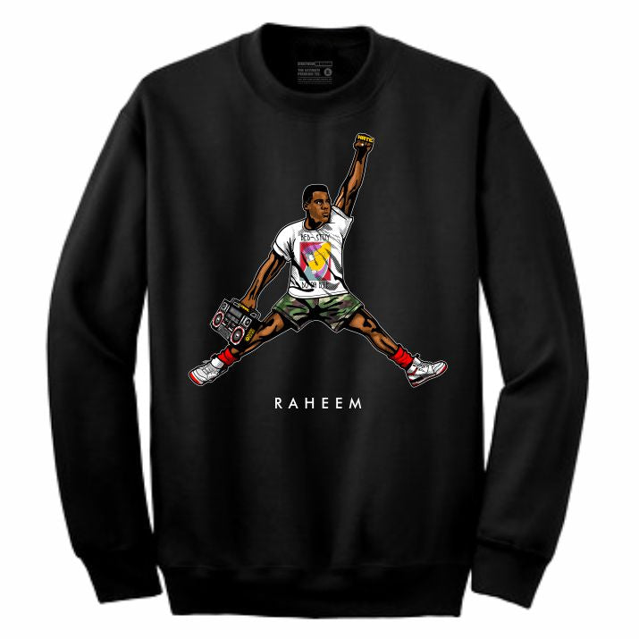 Raheem Black Crewneck (JMPMN Collection)