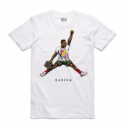Raheem White T-Shirt (JMPMN Collection)