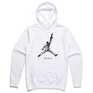 Scarface White Hoodie (JMPMN Collection)