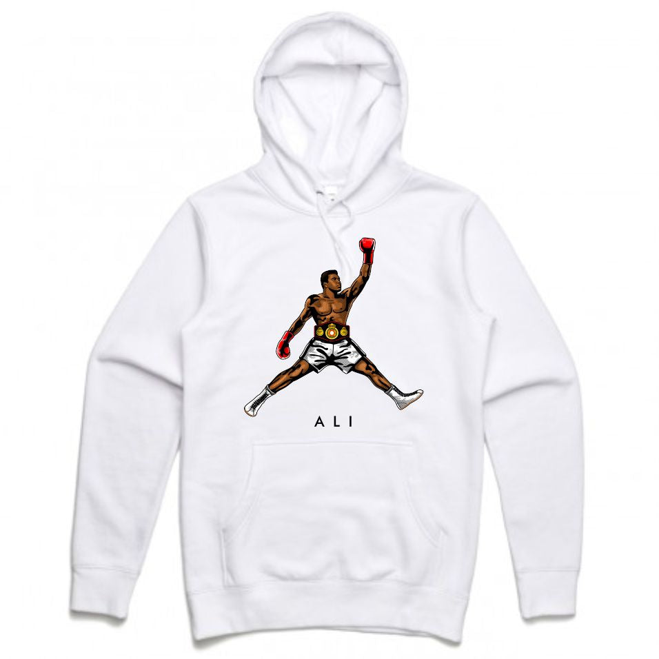 Ali White Hoodie (JMPMN Collection)