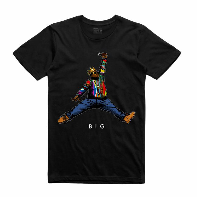 Biggie Black T-Shirt (JMPMN Collection)