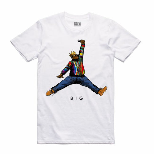 Biggie White T-Shirt (JMPMN Collection)