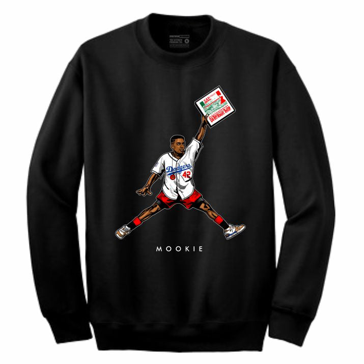 Mookie Black Crewneck (JMPMN Collection)