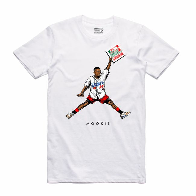 Mookie White T-Shirt (JMPMN Collection)