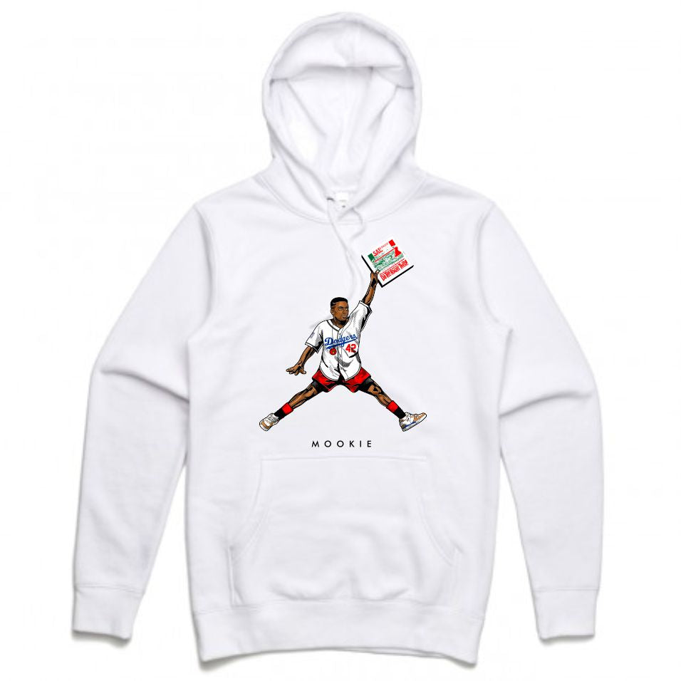 Mookie White Hoodie (JMPMN Collection)