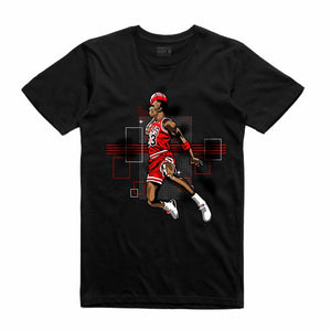 MJ Black T-Shirt (Rockstar Collection)