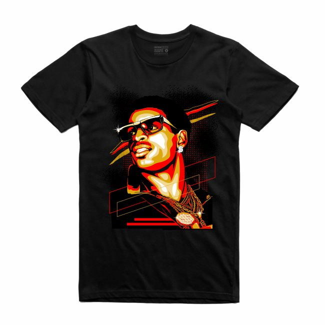 Primetime Black T-Shirt (Rockstar Collection)