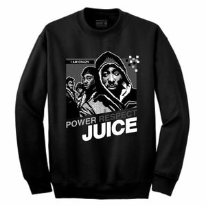 Juice Black Crewneck (8 Bit Collection)