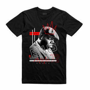 Biggie Black T-Shirt (Mixed Media Collection)
