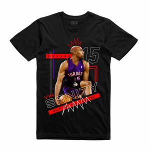 Vinsanity Black T-Shirt (Mixed Media Collection)