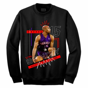 Vinsanity Black Crewneck (Mixed Media Collection)