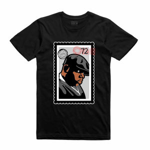 Biggie Black T-Shirt (Stamp V1 Collection)